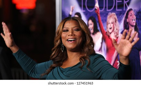 "LOS ANGELES - JAN 19:  QUEEN LATIFAH arriving to ""Joyful Noise"" Los Angeles Premeire  on January 19, 2012 in Hollywood, CA"