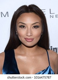 LOS ANGELES - JAN 20:  Jeannie Mai arrives for the EW Magazine honors SAG Nominees on January 20, 2018 in West Hollywood, CA