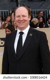 LOS ANGELES - JAN 21:  Dan Bakkedahl at the 24th Screen Actors Guild Awards - Press Room at Shrine Auditorium on January 21, 2018 in Los Angeles, CA
