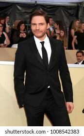 LOS ANGELES - JAN 21:  Daniel Bruhl at the 24th Screen Actors Guild Awards - Press Room at Shrine Auditorium on January 21, 2018 in Los Angeles, CA