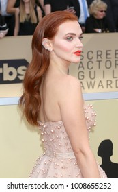 LOS ANGELES - JAN 21:  Madeline Brewer at the 24th Screen Actors Guild Awards - Press Room at Shrine Auditorium on January 21, 2018 in Los Angeles, CA