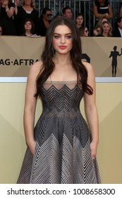LOS ANGELES - JAN 21:  Odeya Rush at the 24th Screen Actors Guild Awards - Press Room at Shrine Auditorium on January 21, 2018 in Los Angeles, CA