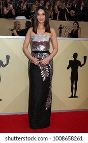 LOS ANGELES - JAN 21:  Olivia Munn at the 24th Screen Actors Guild Awards - Press Room at Shrine Auditorium on January 21, 2018 in Los Angeles, CA