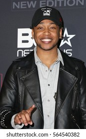 """LOS ANGELES - JAN 23:  Jacob Latimore at the BET's """"The New Edition Story"""" Premiere Screening at Paramount Studios on January 23, 2017 in Los Angeles, CA"""