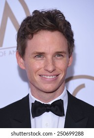 LOS ANGELES - JAN 24:  Eddie Redmayne arrives to the 26th Annual Producers Guild Awards  on January 24, 2015 in Century City, CA