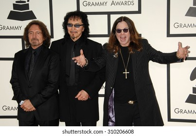 LOS ANGELES - JAN 26:  Black Sabbath, Ozzy Osbourne arrives at the 56th Annual Grammy Awards Arrivals  on January 26, 2014 in Los Angeles, CA