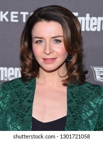 LOS ANGELES - JAN 26:  Caterina Scorsone arrives to Entertainment Weekly honors Nominees for the Screen Actors Guild Awards  on January 26, 2019 in Hollywood, CA