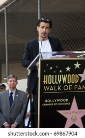LOS ANGELES - JAN 26:  Colin Farrell at the Donald Sutherland Walk of Fame Star Ceremony at Hollywood Blvd on January 26, 2011 in Los Angeles, CA