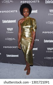 LOS ANGELES - JAN 26:  Danai Gurira arrives to Entertainment Weekly honors Nominees for the Screen Actors Guild Awards  on January 26, 2019 in Hollywood, CA