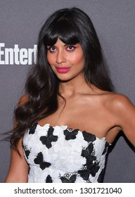 LOS ANGELES - JAN 26:  Jameela Jamil arrives to Entertainment Weekly honors Nominees for the Screen Actors Guild Awards  on January 26, 2019 in Hollywood, CA