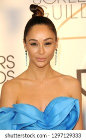 LOS ANGELES - JAN 27:  Cara Santana at the 25th Annual Screen Actors Guild Awards at the Shrine Auditorium on January 27, 2019 in Los Angeles, CA