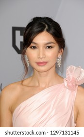LOS ANGELES - JAN 27:  Gemma Chan at the 25th Annual Screen Actors Guild Awards at the Shrine Auditorium on January 27, 2019 in Los Angeles, CA