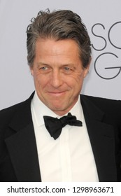 LOS ANGELES - JAN 27:  Hugh Grant at the 25th Annual Screen Actors Guild Awards at the Shrine Auditorium on January 27, 2019 in Los Angeles, CA