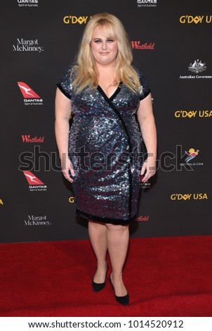 0630d6cbdc6 LOS ANGELES - JAN 27  Rebel Wilson arrives for the G Day USA Gala 2018 on  January 27
