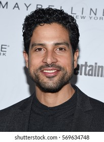 LOS ANGELES - JAN 28:  Adam Rodriguez {Object} arrives to the Entertainment Weekly Pre Sag Awards Celebration on January 28, 2017 in Hollywood, CA