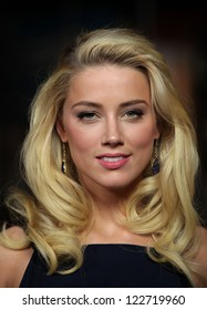 LOS ANGELES - JAN 28:  AMBER HEARD arriving to Director's Guild Awards 2012  on January 28, 2012 in Hollywood, CA