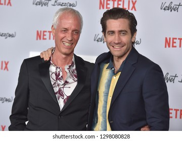 LOS ANGELES - JAN 28:  Dan Gilroy and Jake Gyllenhaal arrives for the Netflix 'Velvet Buzzsaw' Premiere on January 28, 2019 in Hollywood, CA