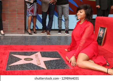 LOS ANGELES - JAN 28:  Taraji P Henson at the Taraji P. Henson Star Ceremony on the Hollywood Walk of Fame on January 28, 2019 in Los Angeles, CA