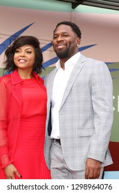 LOS ANGELES - JAN 28:  Taraji P Henson, Kelvin Hayden at the Taraji P. Henson Star Ceremony on the Hollywood Walk of Fame on January 28, 2019 in Los Angeles, CA