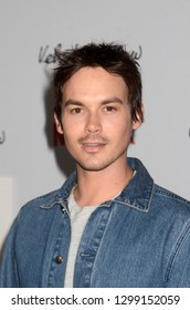 "LOS ANGELES - JAN 28:  Tyler Blackburn at the ""Velvet Buzzsaw"" Los Angeles Premiere Screening at the Egyptian Theater on January 28, 2019 in Los Angeles, CA"