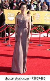 LOS ANGELES - JAN 29:  Aimee Garcia arrives at the 18th Annual Screen Actors Guild Awards at Shrine Auditorium on January 29, 2012 in Los Angeles, CA