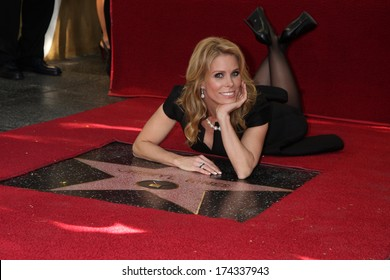LOS ANGELES - JAN 29:  Cheryl Hines at the Hollywood Walk of Fame Star Ceremony for Cheryl Hines at Hollywood Boulevard on January 29, 2014 in Los Angeles, CA