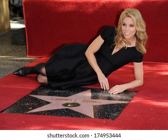 LOS ANGELES - JAN 29:  Cheryl Hines Walk of Fame Honors Cheryl Hines  on January 29, 2014 in Hollywood, CA