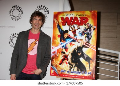 "LOS ANGELES - JAN 30:  Christopher Gorham at the ""Justice League: War"" at Paley Cener at Paley Center For Media on January 30, 2014 in Beverly Hills, CA"