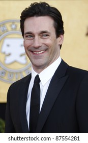 LOS ANGELES - JAN 30: Jon Hamm arrives at The 17th Annual SAG Awards held at the Shrine Auditorium on January 30, 2011 in Los Angeles, California.
