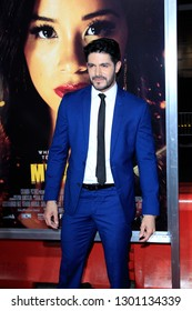 """LOS ANGELES - JAN 30:  Pepe Gamez at the """"Miss Bala"""" Premiere at the Regal LA Live on January 30, 2019 in Los Angeles, CA"""
