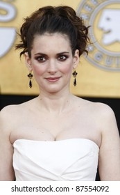 LOS ANGELES - JAN 30: Winona Ryder arrives at The 17th Annual SAG Awards held at the Shrine Auditorium on January 30, 2011 in Los Angeles, California.