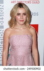 LOS ANGELES - JAN 31:  Kiernan Shipka at the 19th Annual Art Directors Guild Excellence in Production Design Awards at a Beverly Hilton Hotel on January 31, 2015 in Beverly Hills, CA