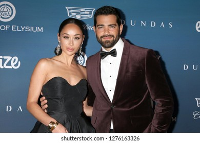 LOS ANGELES - JAN 5:  Cara Santana, Jesse Metcalfe at the Art of Elysium 12th Annual HEAVEN Celebration at a Private Location on January 5, 2019 in Los Angeles, CA