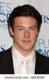LOS ANGELES - JAN 5:  Cory Monteith arrives at 2011 People's Choice Awards at Nokia Theater at LA Live on January 5, 2011 in Los Angeles, CA