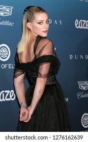 LOS ANGELES - JAN 5:  Lili Reinhart at the Art of Elysium 12th Annual HEAVEN Celebration at a Private Location on January 5, 2019 in Los Angeles, CA