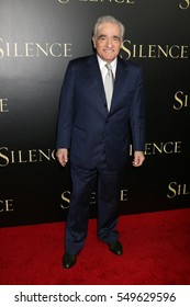 """LOS ANGELES - JAN 5:  Martin Scorsese at the """"Silence"""" Premiere at Directors Guild of America on January 5, 2017 in Los Angeles, CA"""