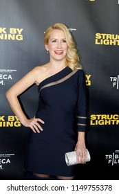 """LOS ANGELES - JAN 6:  Angela Kinsey  at the """"Struck by Lightening"""" Premiere at the Chinese Cinema 6 Theaters on January 6, 2013 in Los Angeles, CA"""