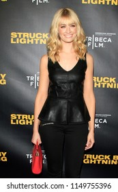 """LOS ANGELES - JAN 6:  Beth Behrs  at the """"Struck by Lightening"""" Premiere at the Chinese Cinema 6 Theaters on January 6, 2013 in Los Angeles, CA"""