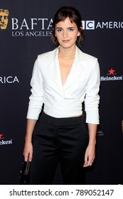LOS ANGELES - JAN 6:  Emma Watson at the 2018 BAFTA Tea Party Arrivals at the Four Seasons Hotel Los Angeles on January 6, 2018 in Beverly Hills, CA