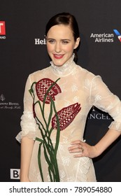 LOS ANGELES - JAN 6:  Rachel Brosnahan at the 2018 BAFTA Tea Party Arrivals at the Four Seasons Hotel Los Angeles on January 6, 2018 in Beverly Hills, CA