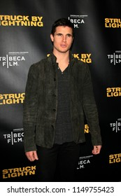 """LOS ANGELES - JAN 6:  Robbie Amell  at the """"Struck by Lightening"""" Premiere at the Chinese Cinema 6 Theaters on January 6, 2013 in Los Angeles, CA"""