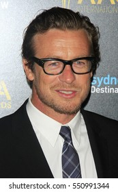 LOS ANGELES - JAN 6:  Simon Baker at the 6th AACTA International Awards at 229 Images on January 6, 2017 in Los Angeles, CA