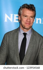 LOS ANGELES - JAN 6:  Tate Donovan attends the NBCUniversal 2013 TCA Winter Press Tour at Langham Huntington Hotel on January 6, 2013 in Pasadena, CA