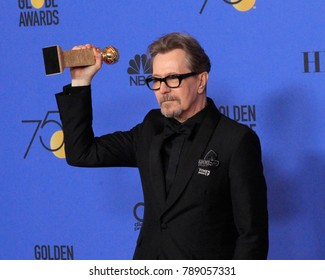 LOS ANGELES - JAN 7:  Gary Oldman at the 75th  Golden Globes Press Room at Beverly Hilton Hotel on January 7, 2018 in Beverly Hills, CA