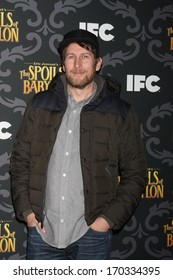 """LOS ANGELES - JAN 7:  Scott Aukerman at the IFC's """"The Spoils Of Babylon"""" Screening at Directors Guild of America on January 7, 2014 in Los Angeles, CA"""