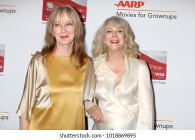 LOS ANGELES - JAN 8:  Guest, Blythe Danner at the AARP's 17th Annual Movies For Grownups Awards at Beverly Wilshire Hotel on January 8, 2018 in Beverly Hills, CA