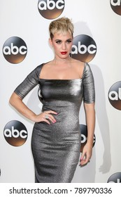 LOS ANGELES - JAN 8:  Katy Perry at the ABC TCA Winter 2018 Party at Langham Huntington Hotel on January 8, 2018 in Pasadena, CA