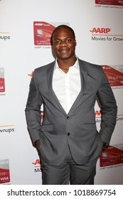 LOS ANGELES - JAN 8:  Marcus Henderson at the AARP's 17th Annual Movies For Grownups Awards at Beverly Wilshire Hotel on January 8, 2018 in Beverly Hills, CA