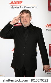 LOS ANGELES - JAN 8:  Mark Hamill at the AARP's 17th Annual Movies For Grownups Awards at Beverly Wilshire Hotel on January 8, 2018 in Beverly Hills, CA