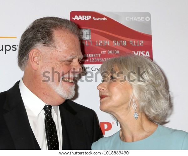 LOS ANGELES - JAN 8:  Taylor Hackford, Helen Mirren at the AARP's 17th Annual Movies For Grownups Awards at Beverly Wilshire Hotel on January 8, 2018 in Beverly Hills, CA